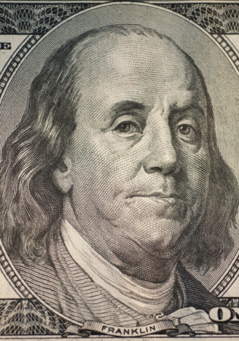 擬人化「Benjamin Franklin on one hundred dollar bill」:スマホ壁紙(6)