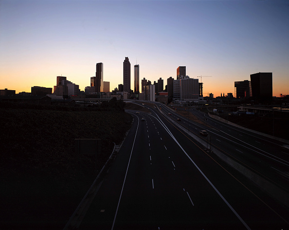 Urban Skyline「Skyline - city of Atlanta at evening - state of Georgia - USA」:写真・画像(13)[壁紙.com]