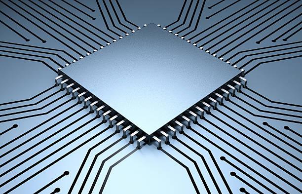 Microchip with Circuit Board:スマホ壁紙(壁紙.com)