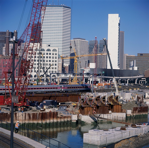 Canal「Boston Big Dig, Central Artery Tunnel Project. Preparation for Immersed Tube Crossing. Massachussetts, USA.」:写真・画像(11)[壁紙.com]