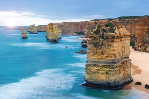 Great Ocean Road「Sunset 12 Apostles, Great Ocean Road, Victoria, Australia (XXXL)」:スマホ壁紙(6)