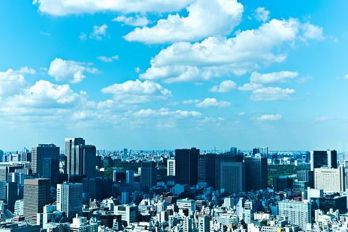 Building Exterior「Tokyo Cityscape」:スマホ壁紙(12)
