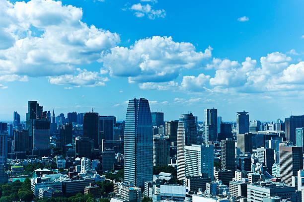 Tokyo Cityscape:スマホ壁紙(壁紙.com)