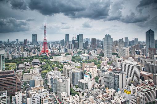 Tokyo Tower「Tokyo cityscape」:スマホ壁紙(13)