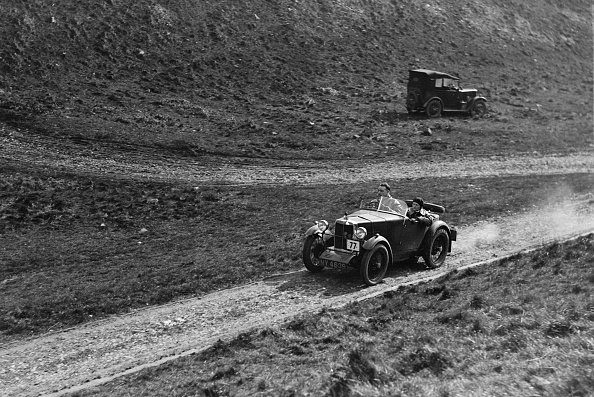 Country Road「MG M type of FN Foster competing in the MCC Sporting Trial, Litton Slack, Derbyshire, 1930」:写真・画像(1)[壁紙.com]