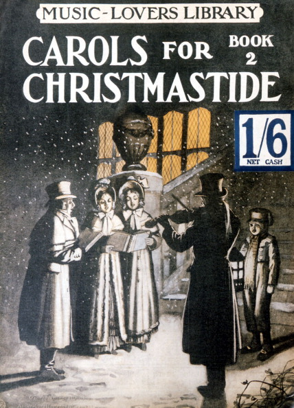 Generic - Description「Xmas Carol Score cover . Carol singers - Carols for Christmastide」:写真・画像(19)[壁紙.com]