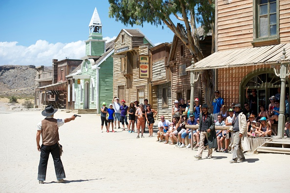 動画「Fort Bravo Texas Hollywood Set Filming in Almeria」:写真・画像(9)[壁紙.com]