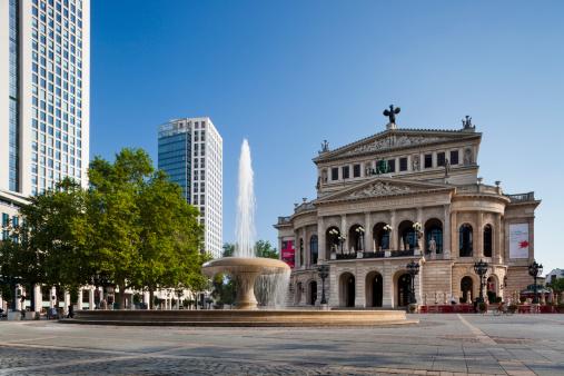 Opera House「Alte Oper」:スマホ壁紙(16)