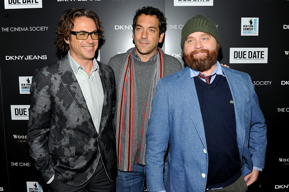 "Stephen Lovekin「The Cinema Society & DKNY Jeans Host A Screening Of ""Due Date"" - Arrivals」:写真・画像(8)[壁紙.com]"