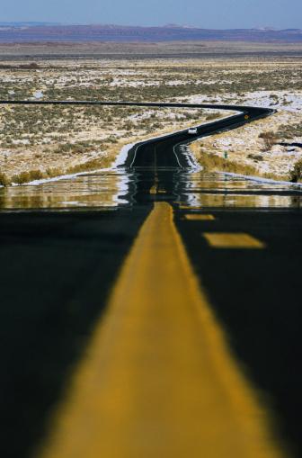 Heat Haze「Highway in Desert Heat」:スマホ壁紙(17)