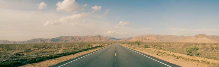 The Way Forward「Highway in the desert」:スマホ壁紙(12)