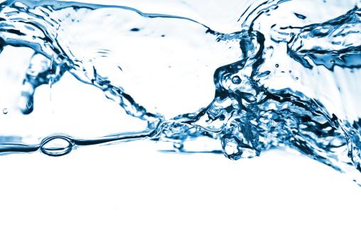 Droplet「流れ落ちる水」:スマホ壁紙(4)