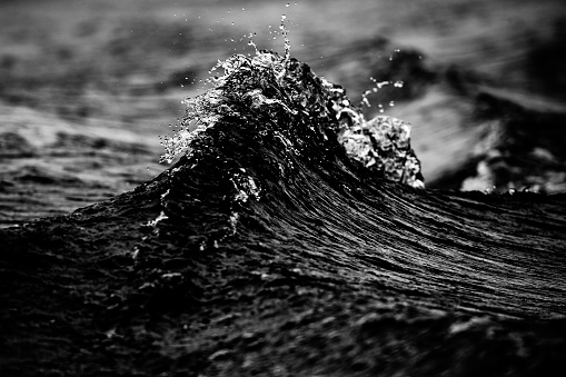 Extreme Weather「splashing wave」:スマホ壁紙(9)
