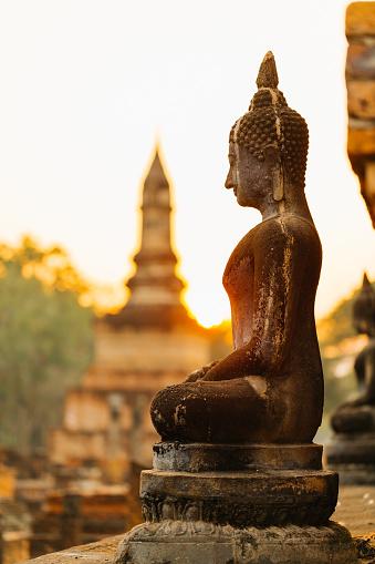 仏像「涅槃像の「スコータイ」」:スマホ壁紙(2)