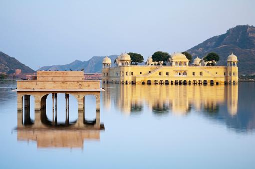 Udaipur「Jal Mahal, Jaipur, Rajasthan, India」:スマホ壁紙(18)