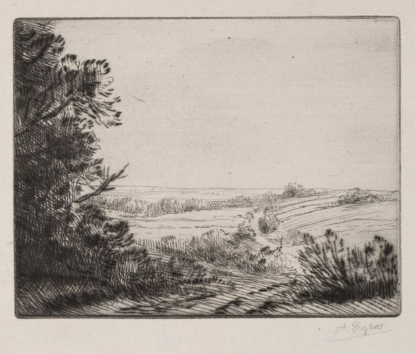 Etching「Landscape. Creator: Alphonse Legros (French」:写真・画像(14)[壁紙.com]