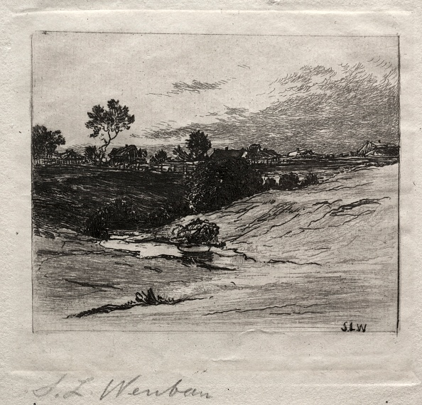 Etching「Landscape. Creator: Sion Longley Wenban (American」:写真・画像(13)[壁紙.com]