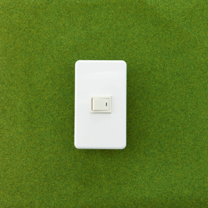 Start Button「A light switch on the grass.」:スマホ壁紙(11)