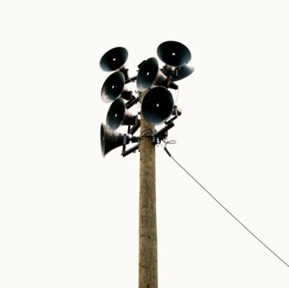 Pole「Loudspeakers on a pole」:スマホ壁紙(5)
