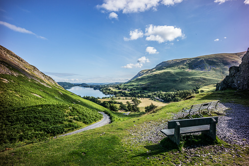 Standing Water「Ullswater , The Lake District National Park」:スマホ壁紙(12)