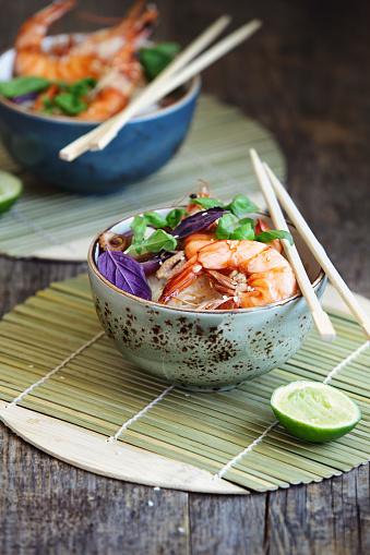 Bean Sprout「Prawn rice Thai themed noodles」:スマホ壁紙(1)