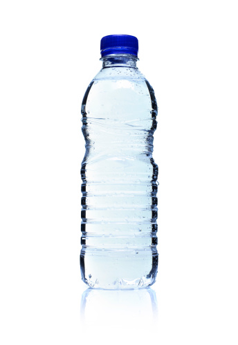 Plastic「Backlit plastic water bottle. Isolated on white.」:スマホ壁紙(19)