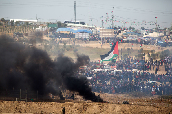 Gaza Strip「Riots on Israel-Gaza Border」:写真・画像(1)[壁紙.com]