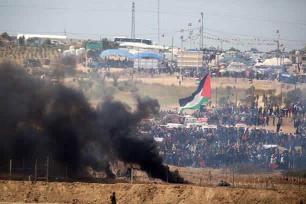 Riots on Israel-Gaza Border:ニュース(壁紙.com)
