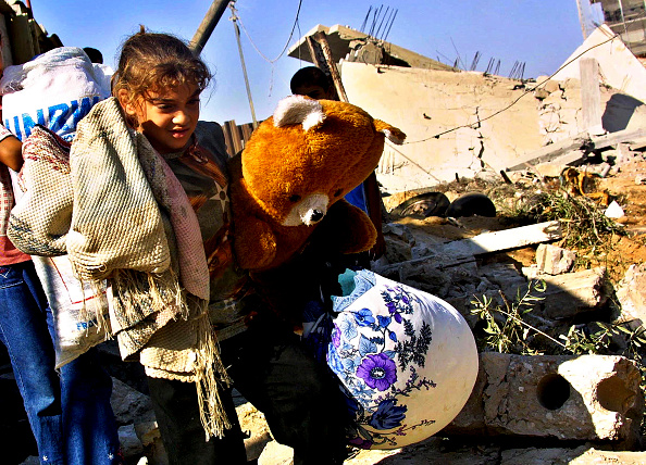 Slanted「Israeli Troops Demolish Two Homes In Rafah Refugee Camp」:写真・画像(15)[壁紙.com]