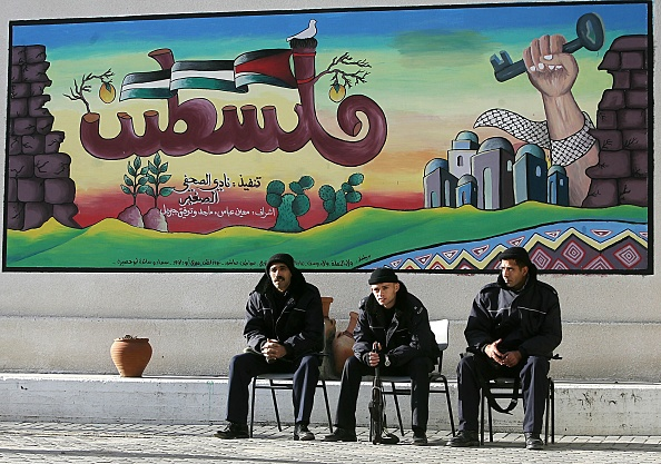 Front View「Palestinian Security And Policemen Vote In Legislative Elections」:写真・画像(10)[壁紙.com]