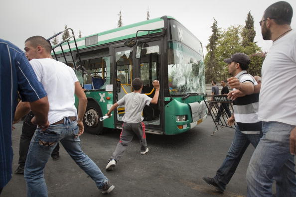 Bus「Clashes In East Jerusalem」:写真・画像(0)[壁紙.com]