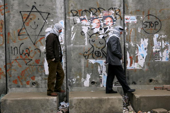 Graffiti「Israelis And Palestinians Hold Separate Election Campaigns In Jerusalem」:写真・画像(14)[壁紙.com]