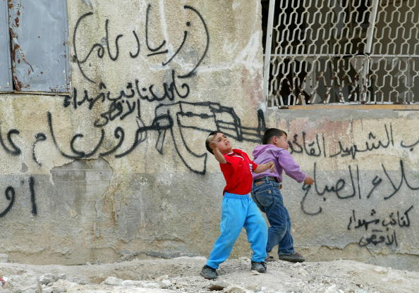 West Bank「Palestinians Rebuild  A Year After Israeli Incursions In To Jenin」:写真・画像(11)[壁紙.com]