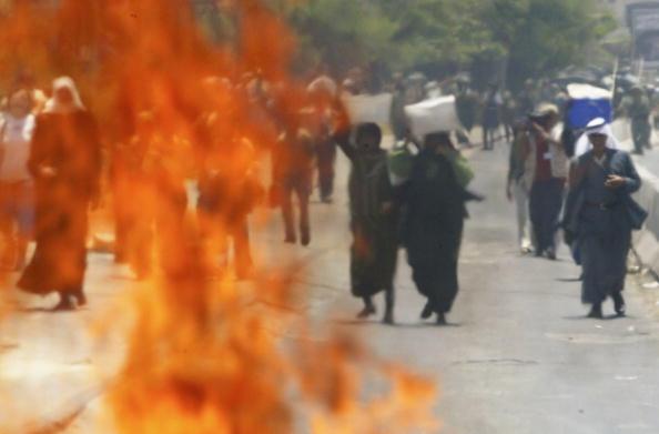 Defocused「Palestinians and Left Wing Israelis Protest Against Separation Barrier」:写真・画像(3)[壁紙.com]