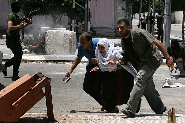 Gaza Strip「Clashes Between Hamas And Fatah Continue」:写真・画像(8)[壁紙.com]