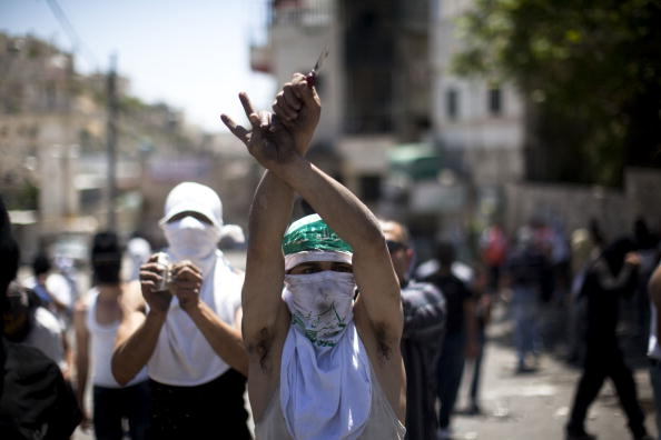 The Knife「Israeli Settlers March Through Palestinian Neighbourhood Of East Jerusalem」:写真・画像(0)[壁紙.com]