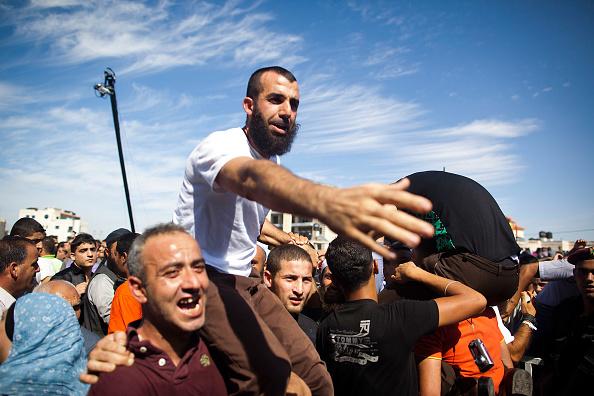 West Bank「Palestinian Prisoners Released Into West Bank」:写真・画像(6)[壁紙.com]