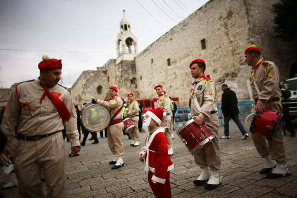 West Bank「Pilgrims Gather At The Church Of The Nativity」:写真・画像(11)[壁紙.com]