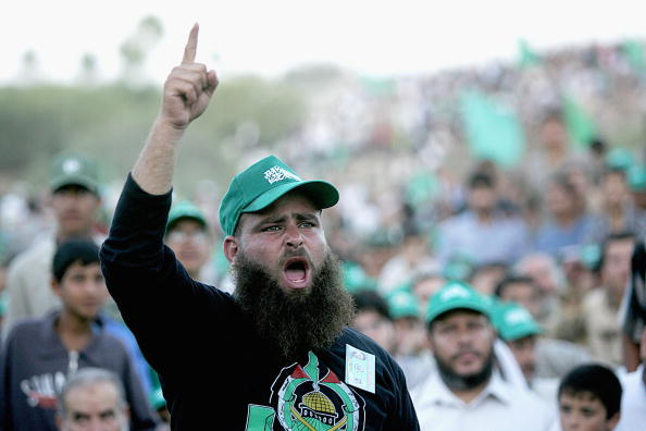Abid Katib「Hamas Holds A Celebration Rally In Neve Dekalim」:写真・画像(13)[壁紙.com]