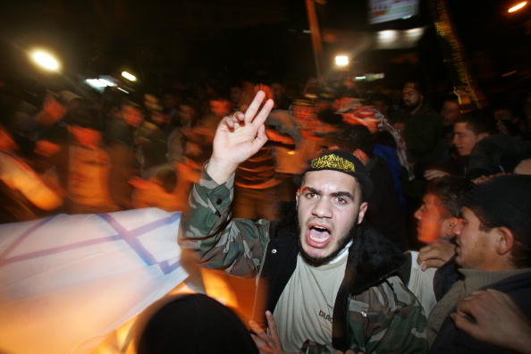Support「Palestinians Protest Protest Against U.S. President George W. Bush Visiting」:写真・画像(4)[壁紙.com]