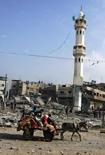Abid Katib「Israel Gaza Conflict Enters Fourth Week」:写真・画像(19)[壁紙.com]