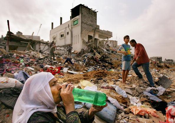 Gaza Strip「Gaza Militants Continue to Resist Latest Israeli Incursion」:写真・画像(13)[壁紙.com]