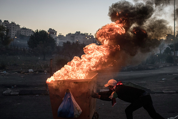 West Bank「Day Of Rage Grips Jerusalem And West Bank」:写真・画像(17)[壁紙.com]