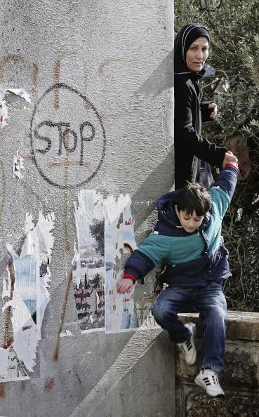 Abu Dis「Israeli Security Barrier Sharon's Legacy」:写真・画像(2)[壁紙.com]