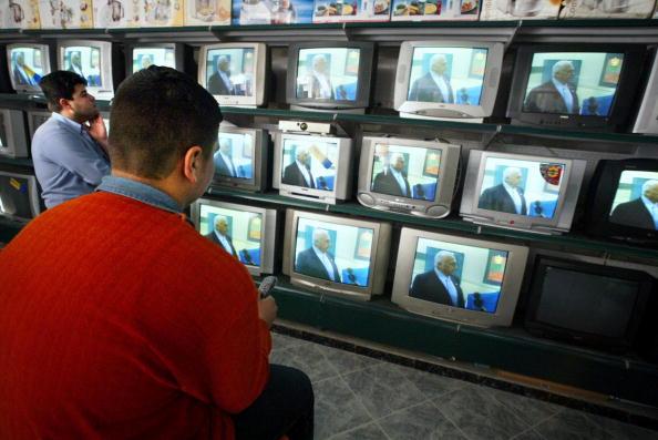 Gaza Strip「Palestinians React To Israeli Elections」:写真・画像(3)[壁紙.com]