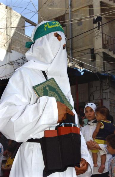 Gaza Strip「Hamas Demonstration In Lebanon」:写真・画像(9)[壁紙.com]