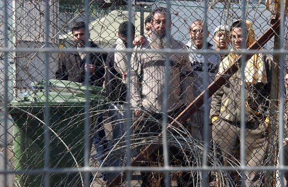 Security「Palestinian Prisoners In Megido Jail」:写真・画像(15)[壁紙.com]