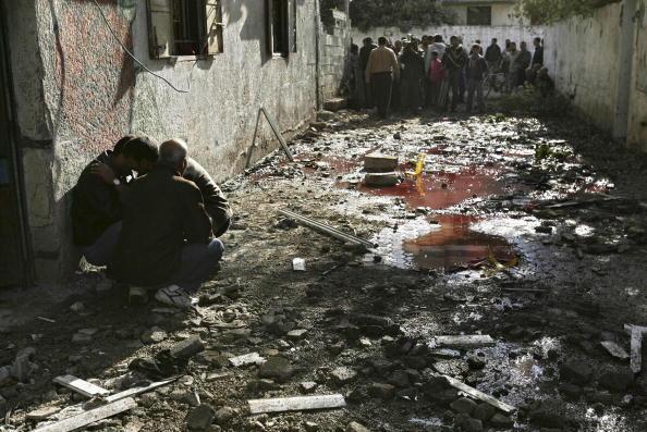 Human Blood「Israeli Shelling Kills 18 In Beit Hanoun」:写真・画像(18)[壁紙.com]