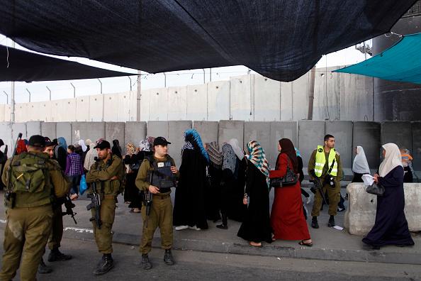 West Bank「Israeli Army Checkpoint」:写真・画像(1)[壁紙.com]