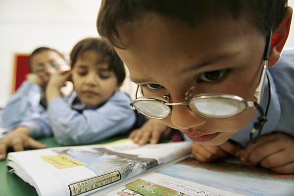 Gaza Strip「Children Attend Classes At Rehabilitation Centre For Visually Impaired」:写真・画像(7)[壁紙.com]